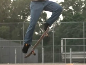 A nice ollie taken from skateology video